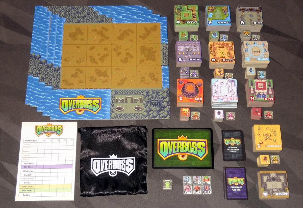 Overboss components