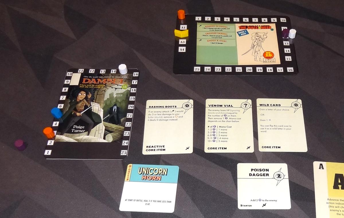 Paperback Adventures The Damsel vs. the Buccaneer