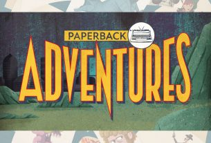 Paperback Adventures logo