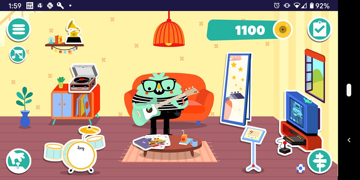 Loog Guitar App screenshot