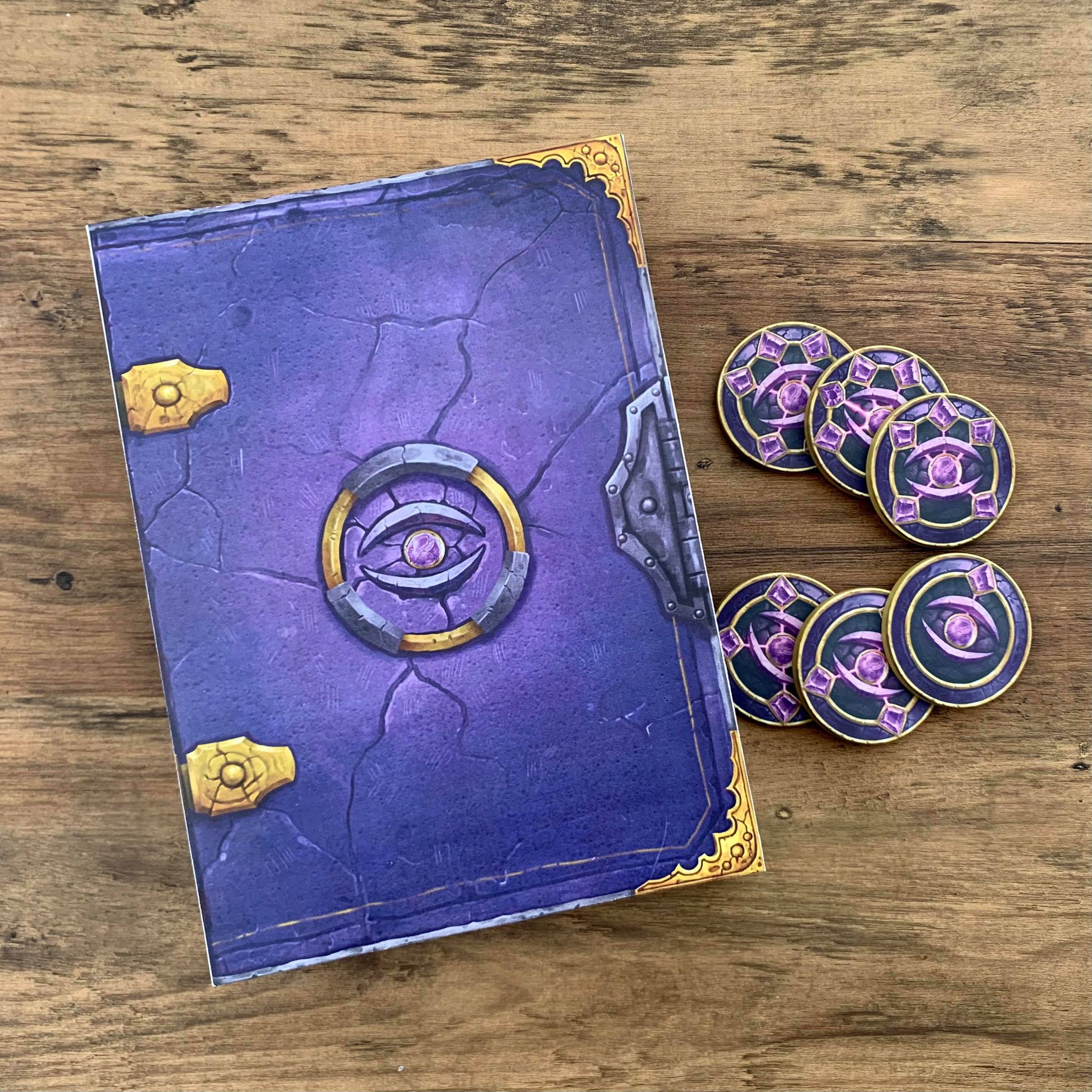 Tome of Spell Holding box prototype