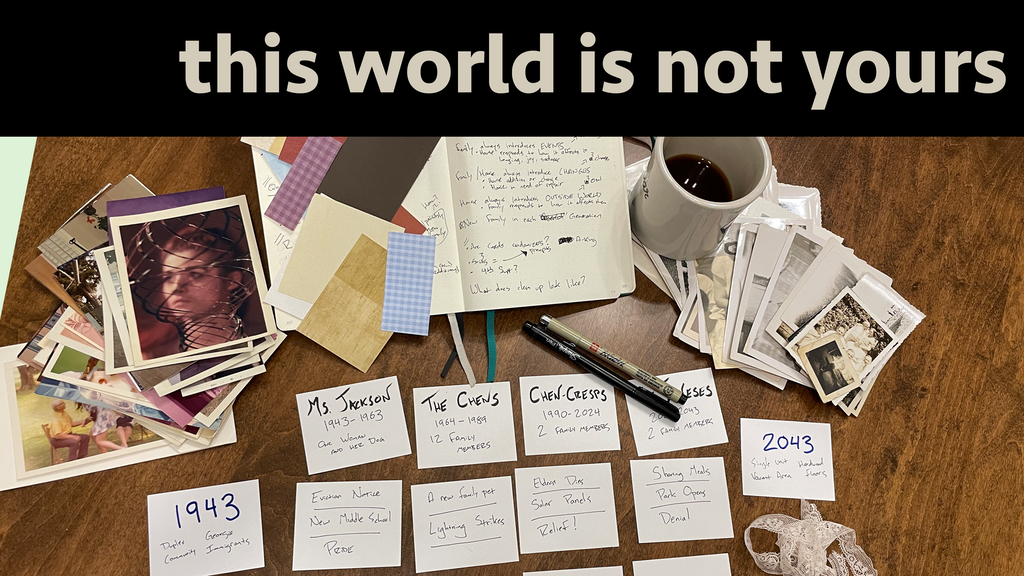 This World Is Not Yours Kickstarter banner