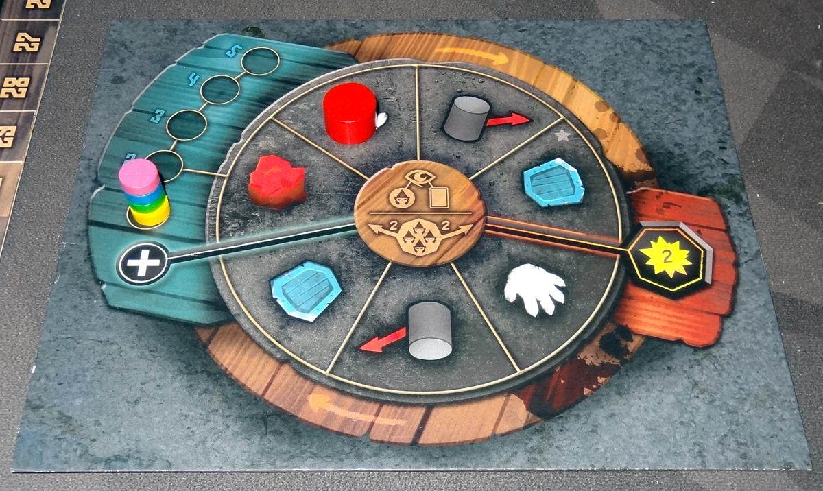 Fall of the Mountain King Gnome wheel