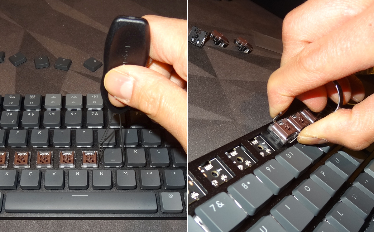 Keychron K3 - swapping out keys