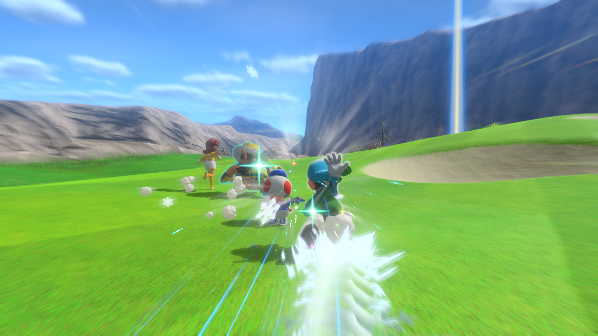 Mario Golf: Super Rush Speed Golf