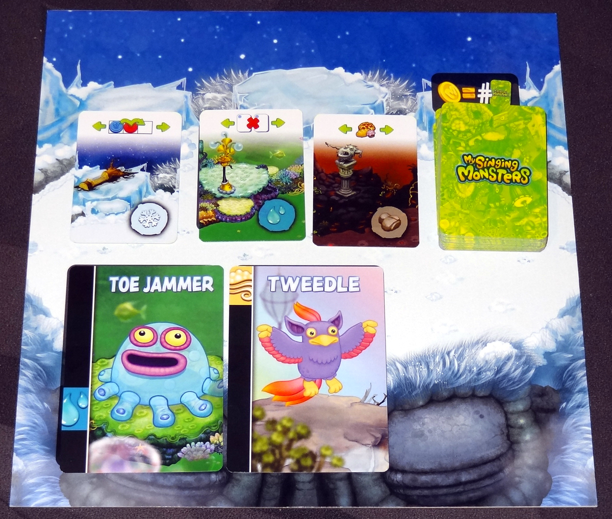 My Singing Monsters Cold Island