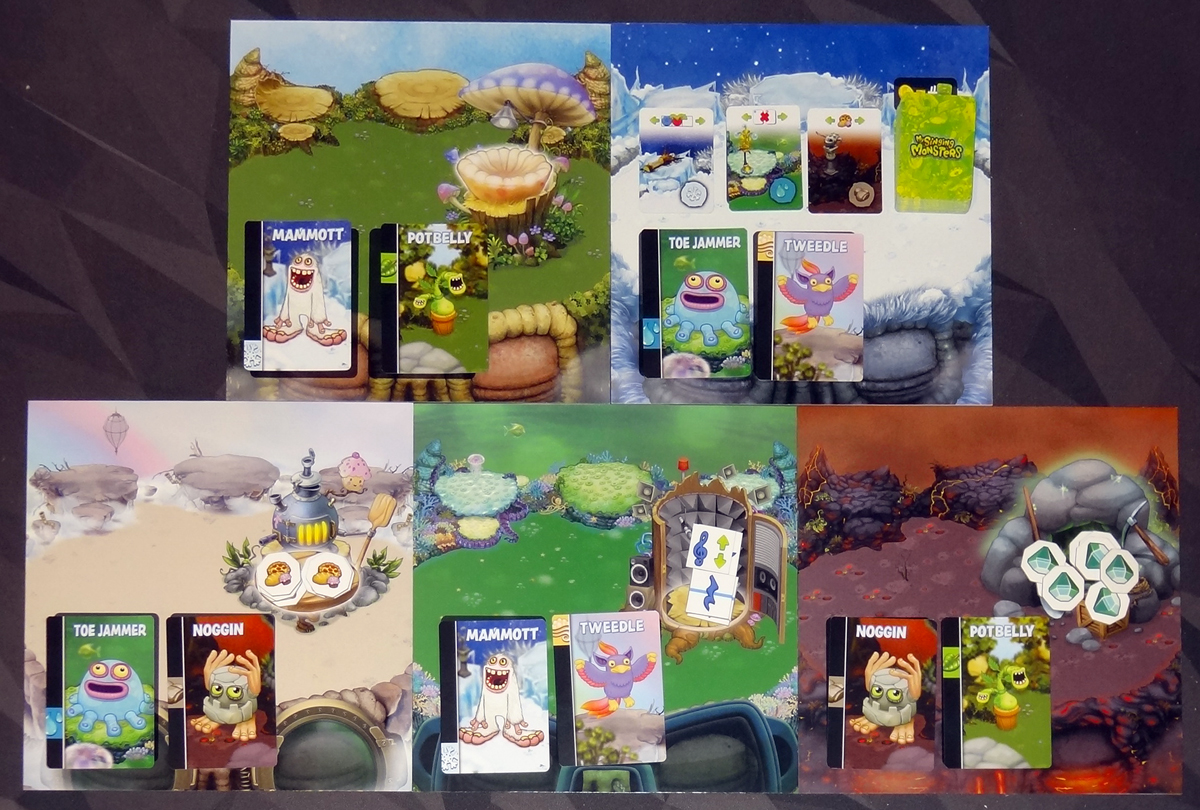 My Singing Monsters 5 island boards