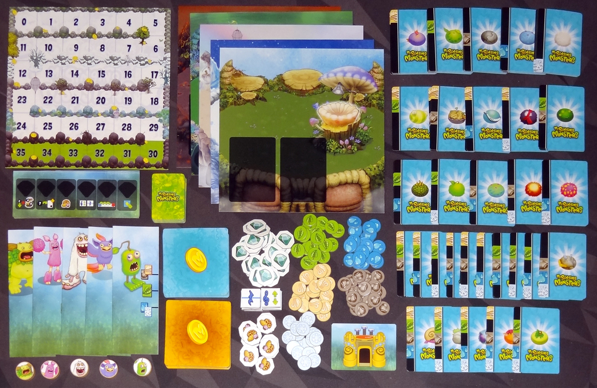 My Singing Monsters components