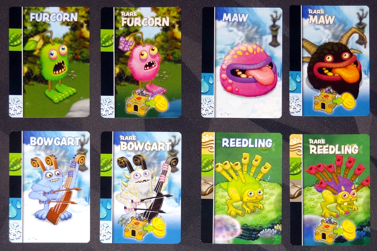 My Singing Monsters - monster cards