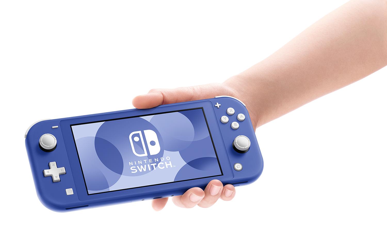 switch lite in blue