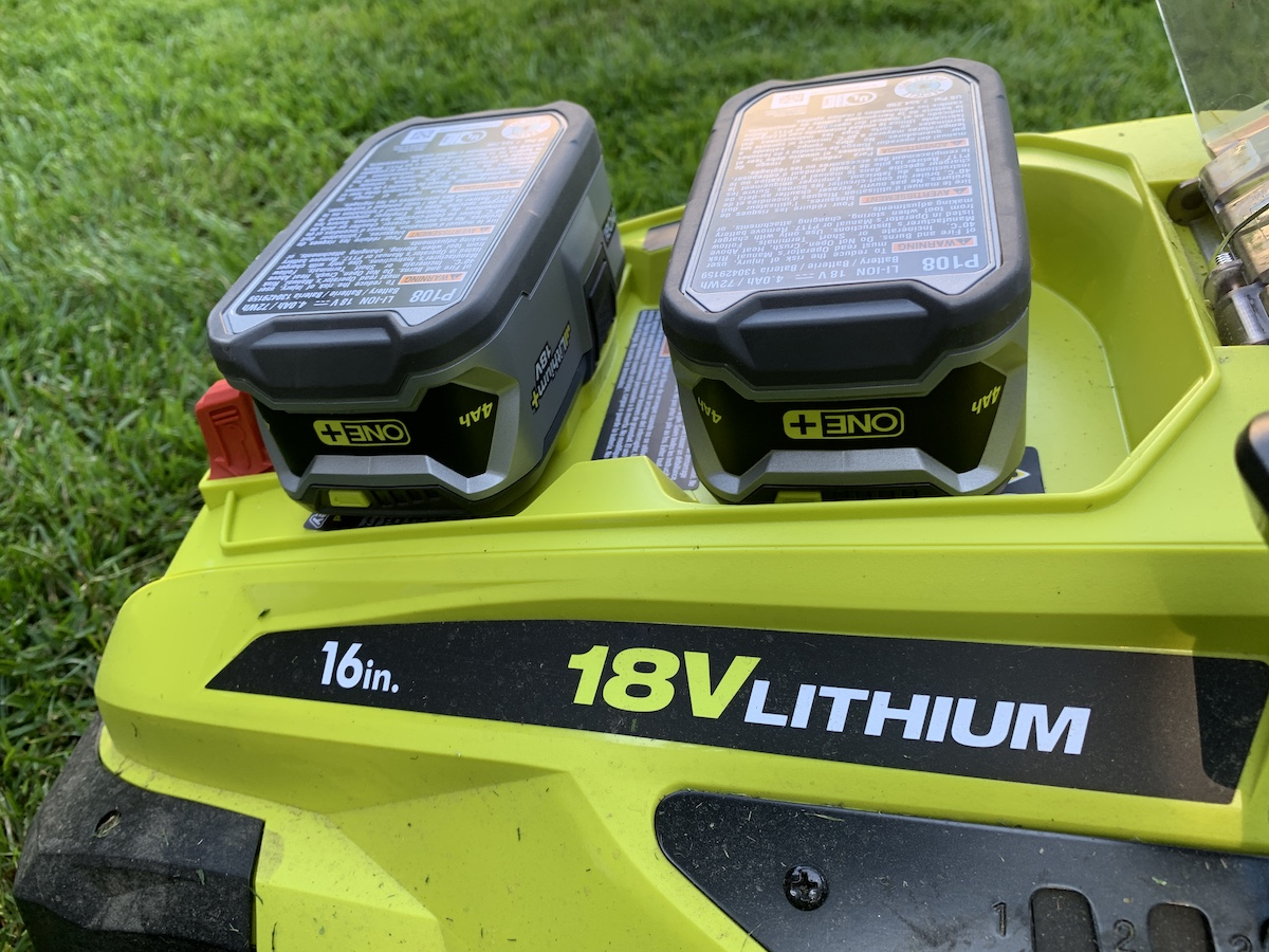 Ryobi 18V One+ lawn mower review