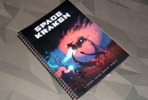 Space Kraken - book cover