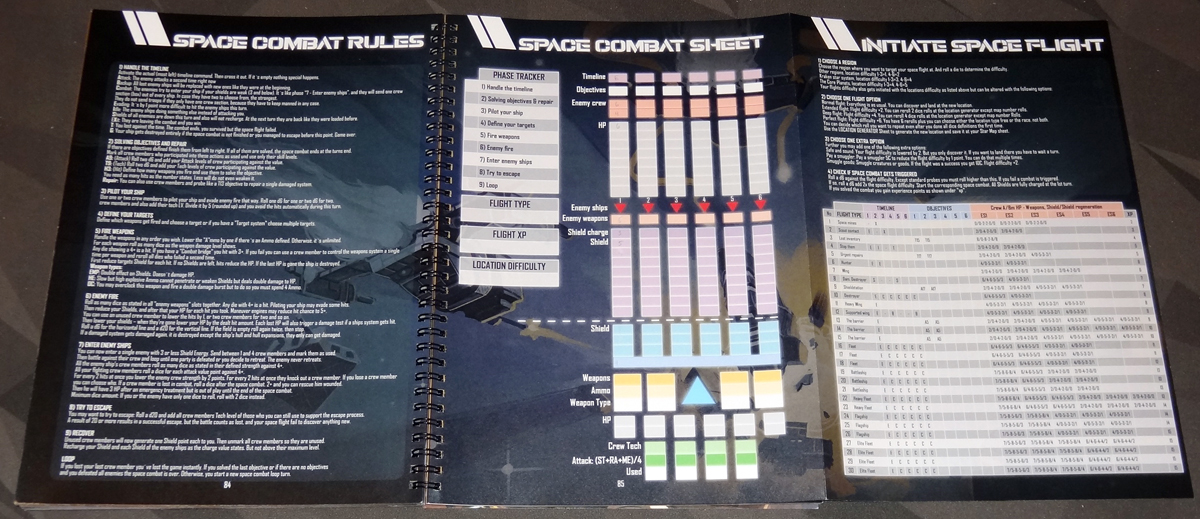Space Kraken - Space Combat and Space Flight rules