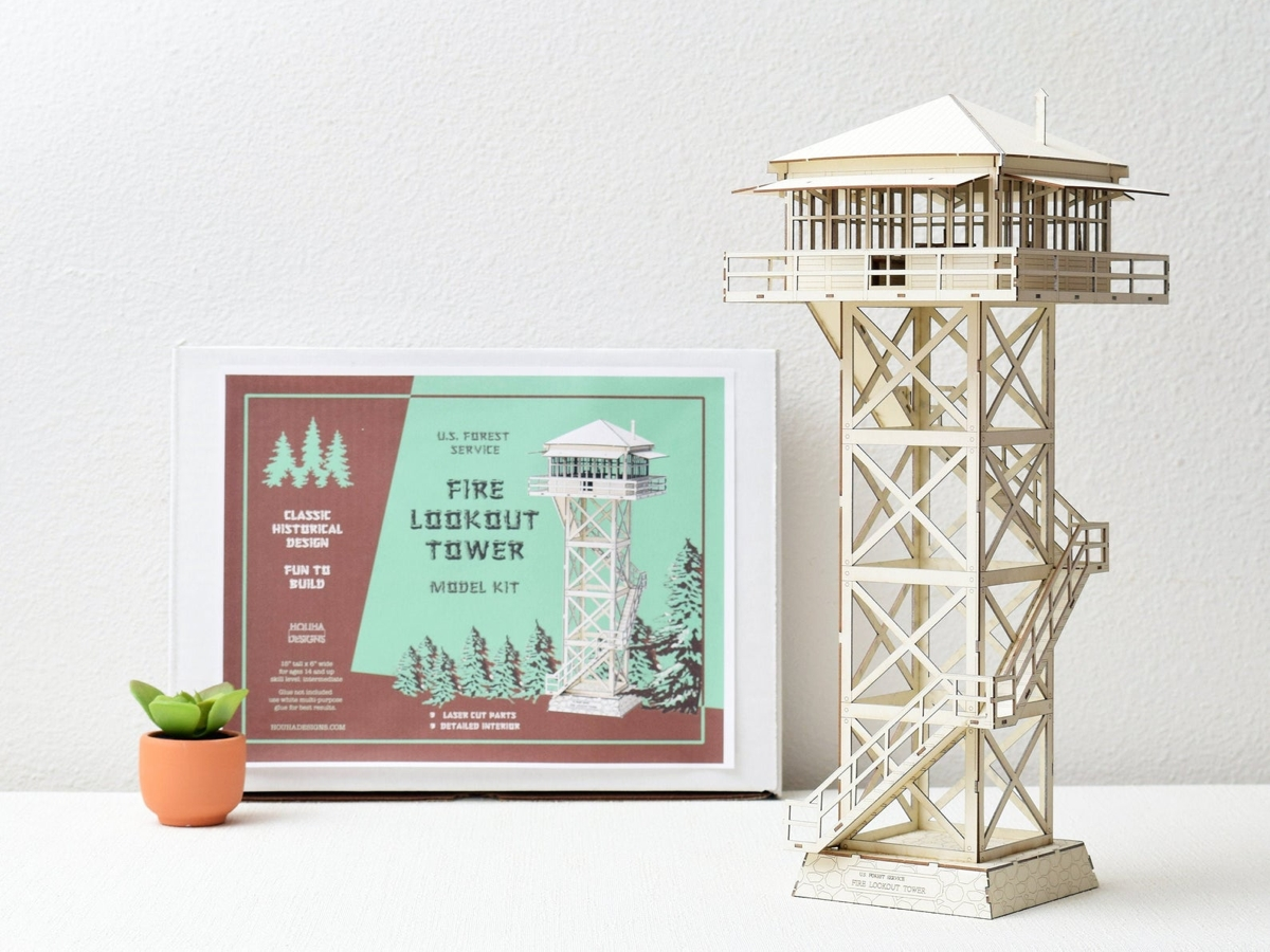 Fire lookout Tower Model