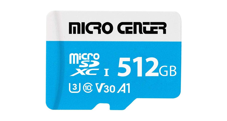 micro center microsd card