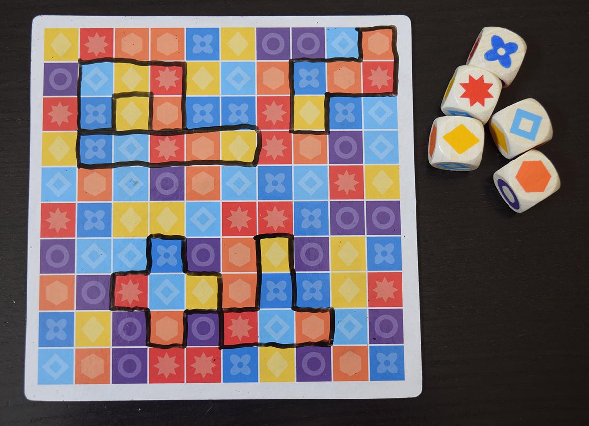 5er Finden gameboard