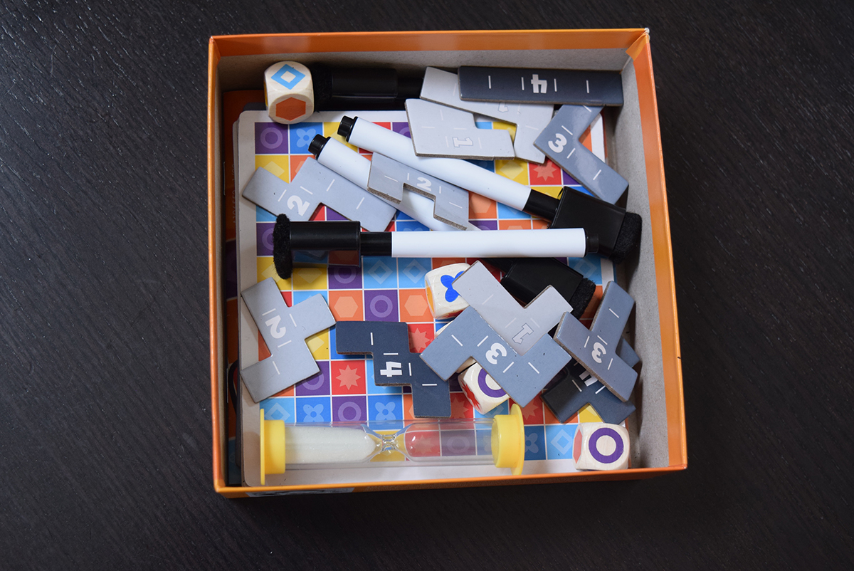 5er Finden components in the box