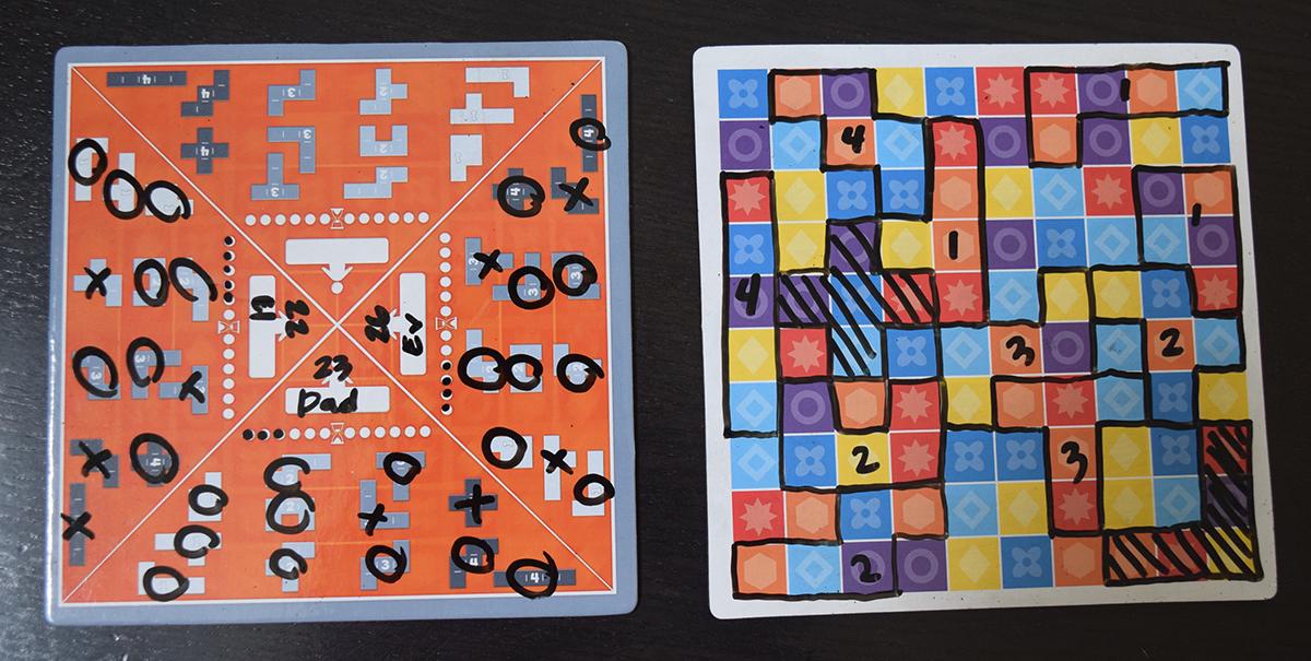 5er Finden puzzle mode