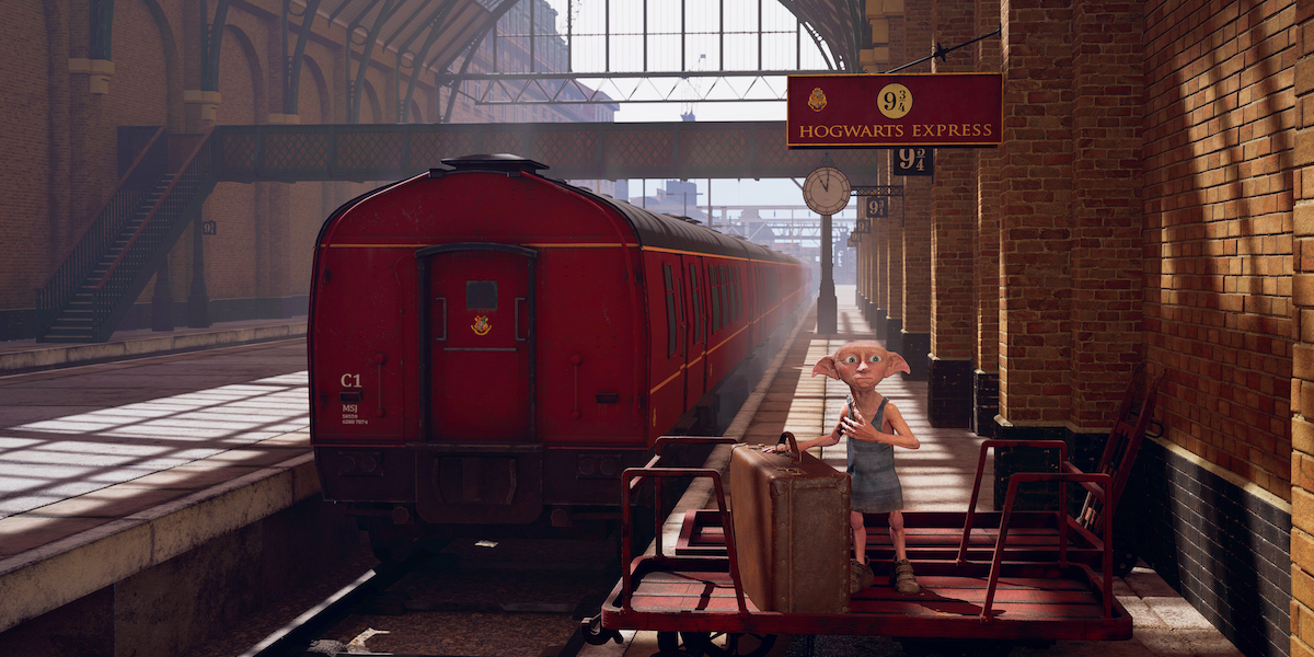 A certain free elf will meet you at the station before your trip to Hogwarts… I hope you have your bags packed.