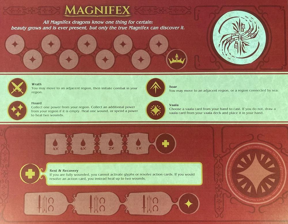 dragon player board