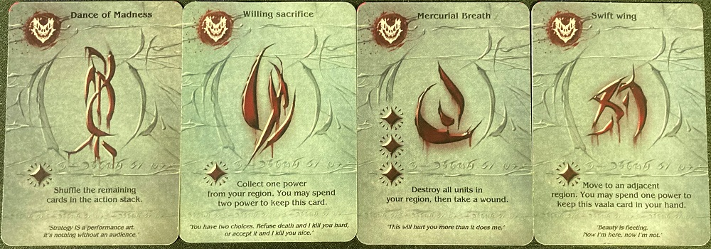 dragon Vaala cards