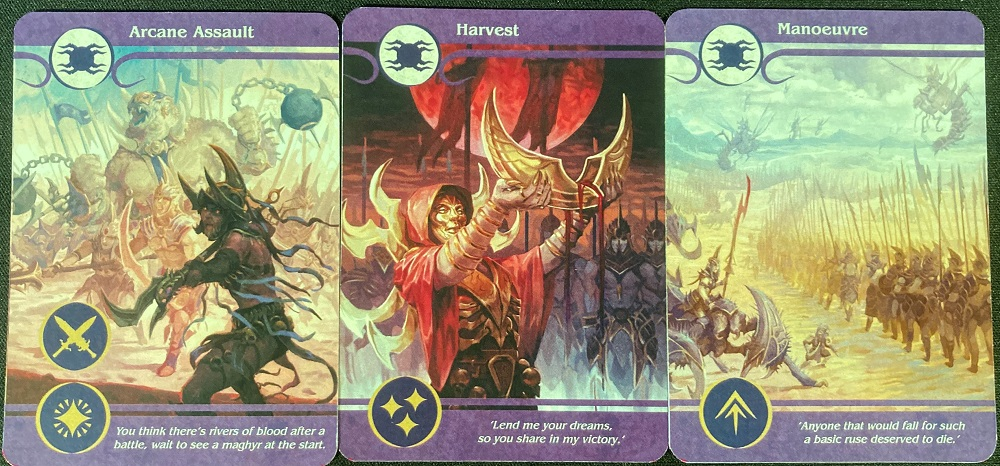 general action cards