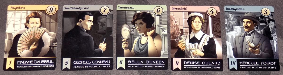 Methodologie character cards