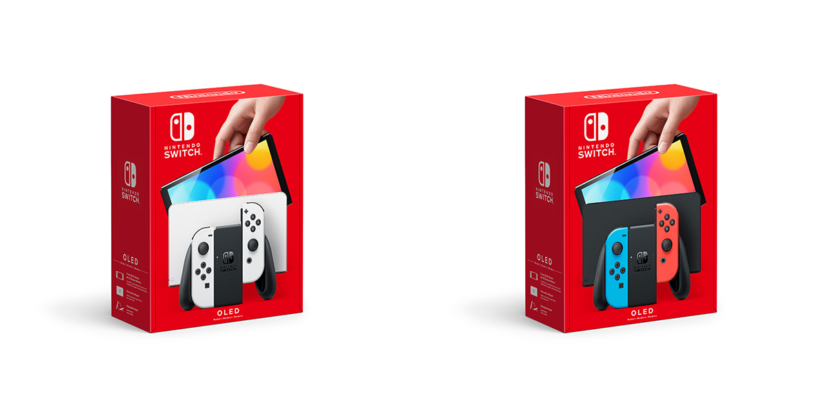 Nintendo Switch OLED packaging