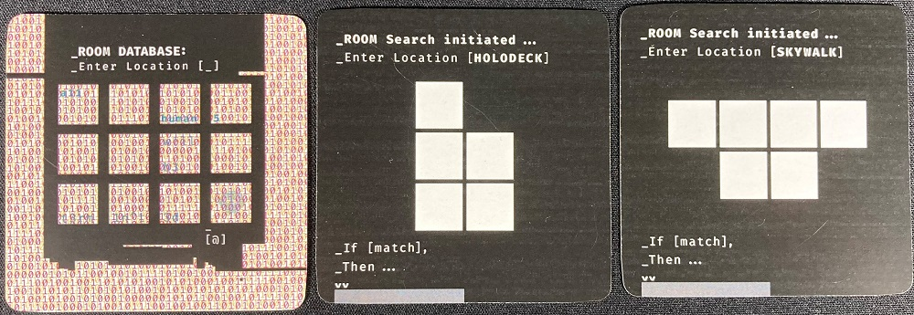 location cards