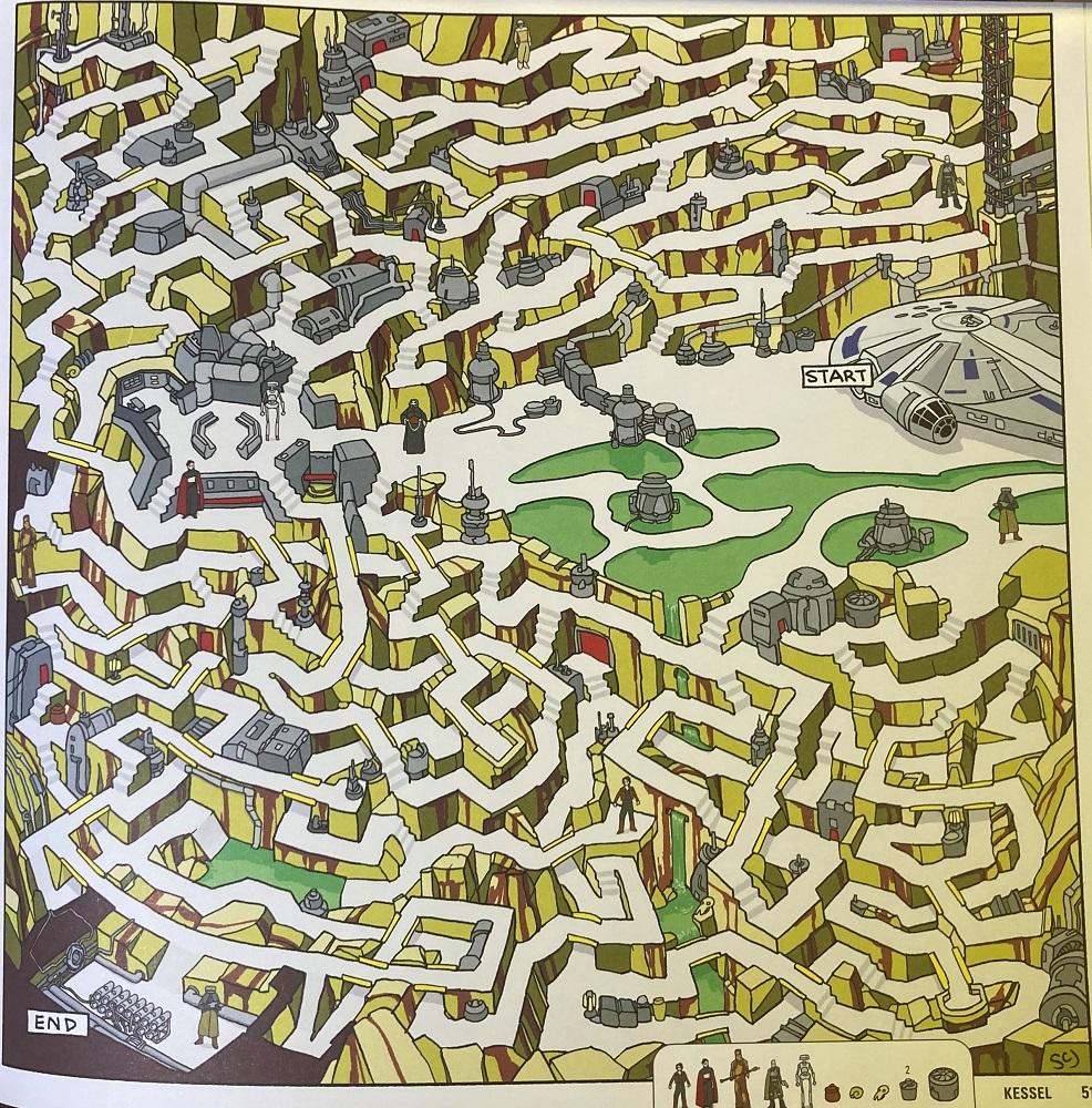 Kessel maze