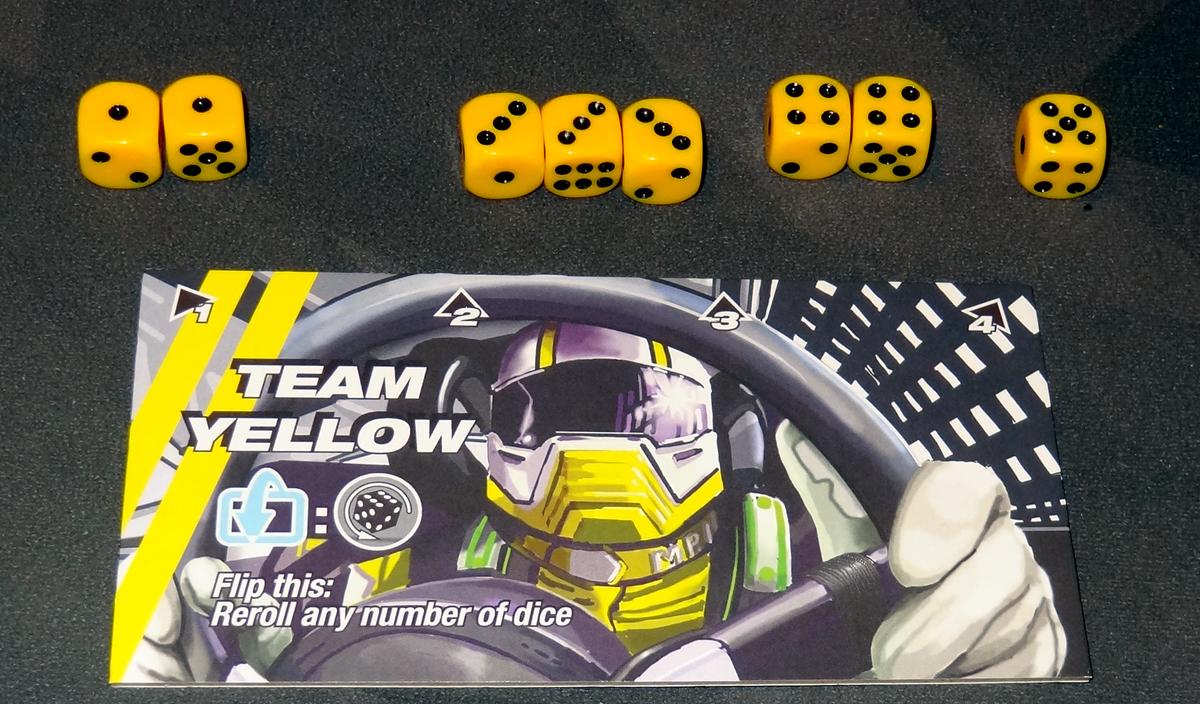 Thunder Rolls - dice roll