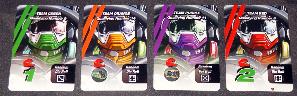 Thunder Rolls Non-Player Driver cards