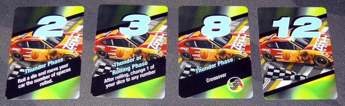 Thunder Rolls Qualifying cards