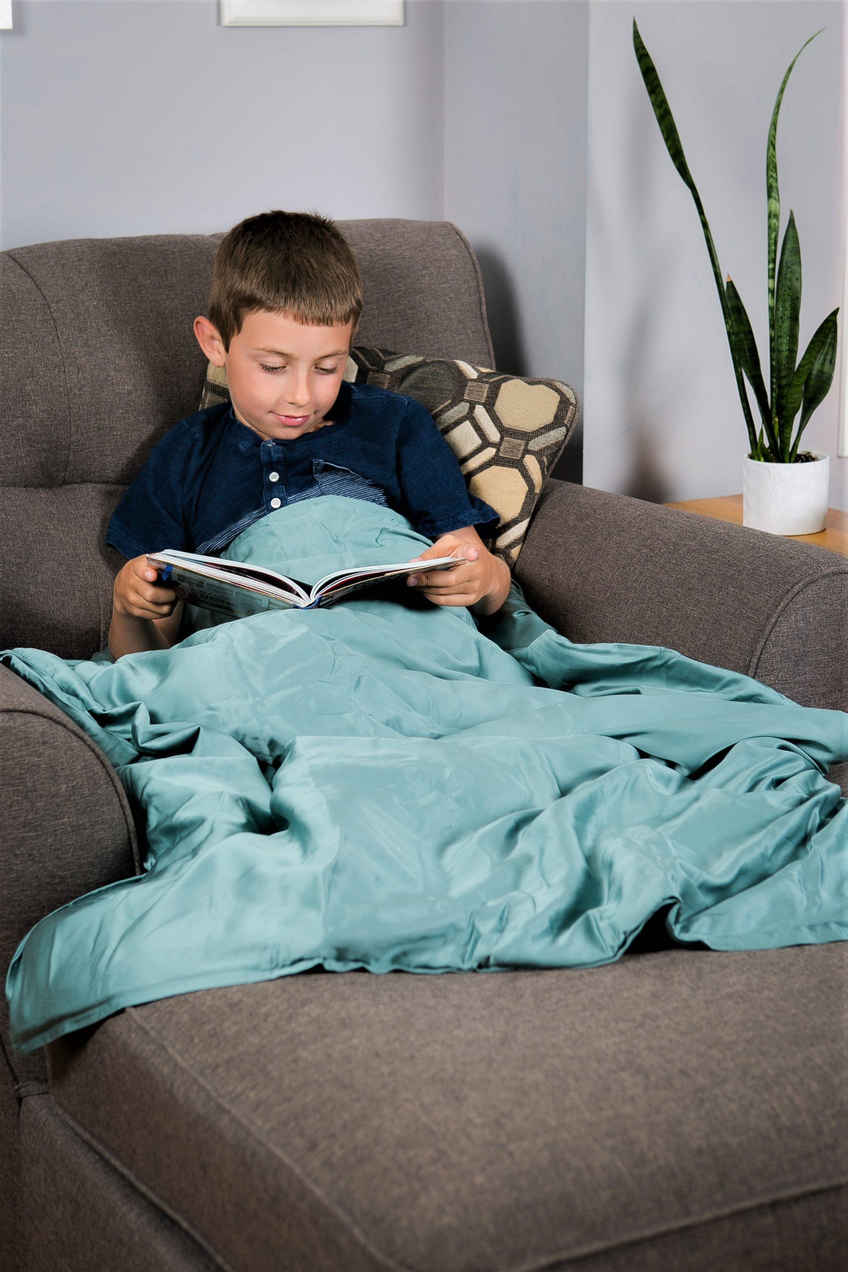 ZOALA blanket in green