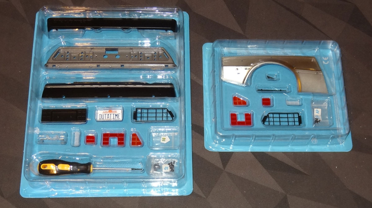 DeLorean first 2 kits
