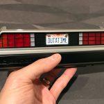 DeLorean Time Machine rear bumper