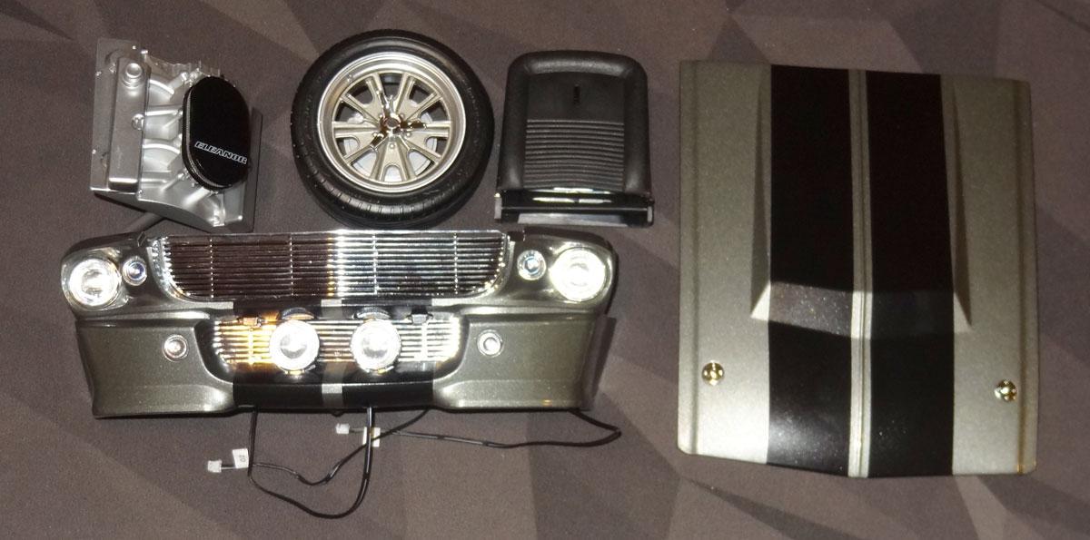 Eleanor Mustang parts