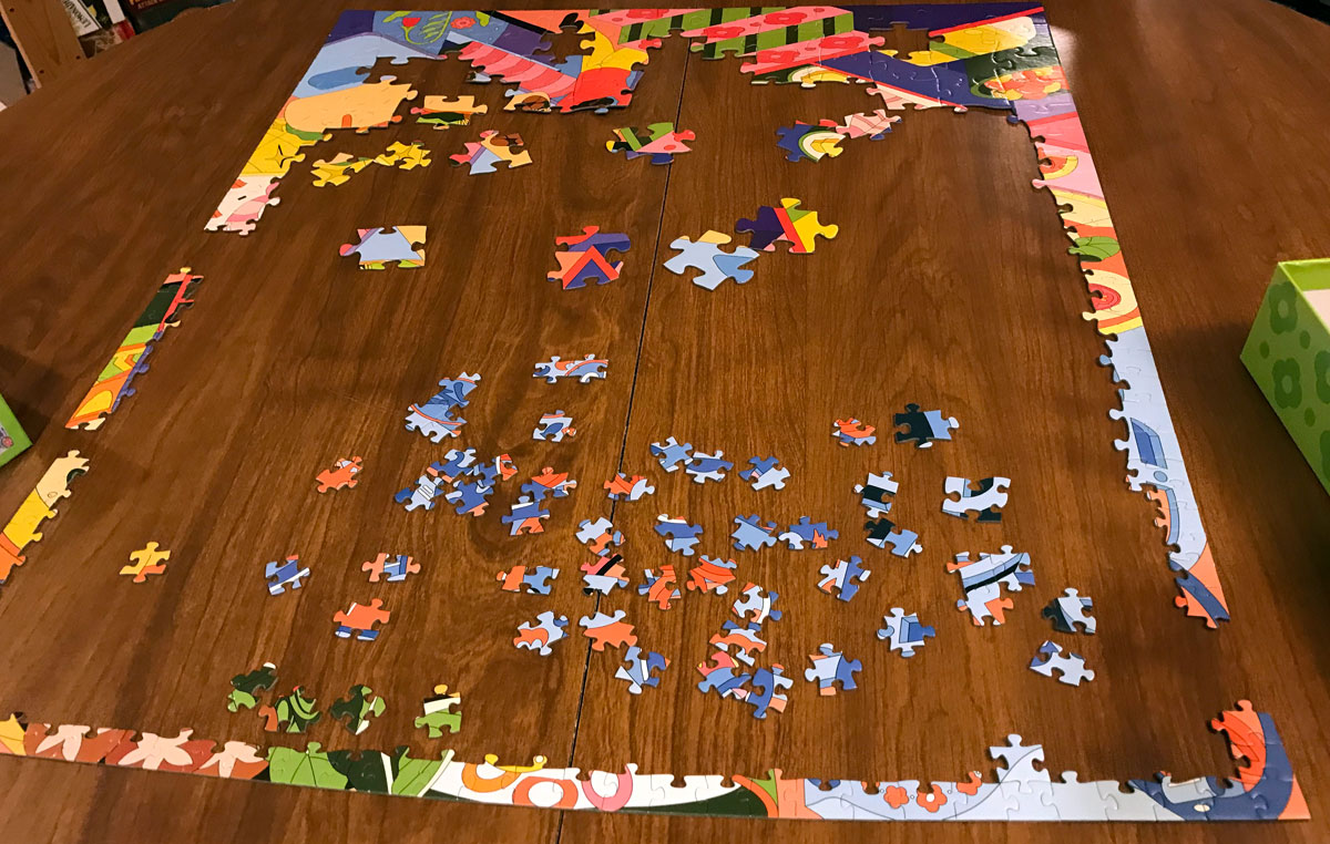Food Fest Puzzle assembly
