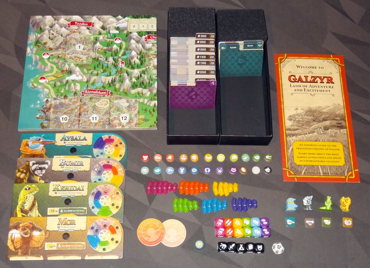 Lands of Galzyr components