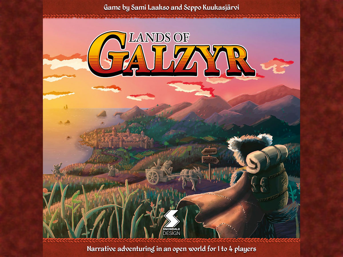 Lands of Galzyr cover