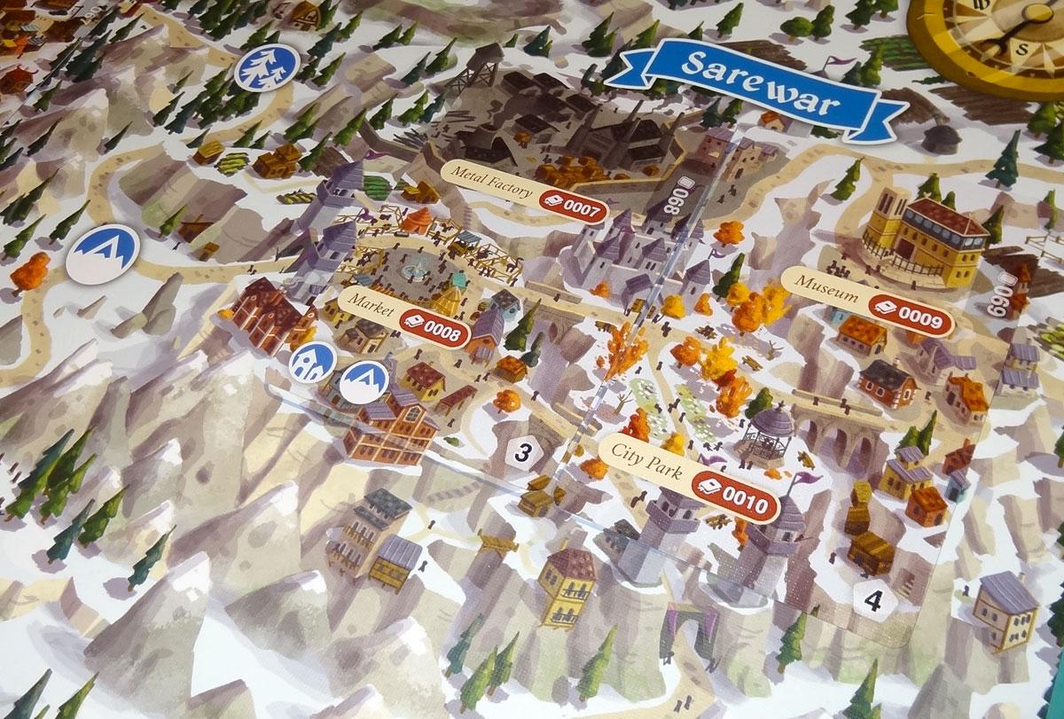 Lands of Galzyr Sarewar close-up