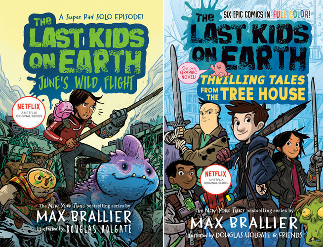 The Last Kids on Earth: June's Wild Flight & Thrilling Tales from the Treehouse