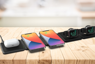 The Modula5 system provides wireless Qi charging for the devices YOU have, not the ones they want you to.