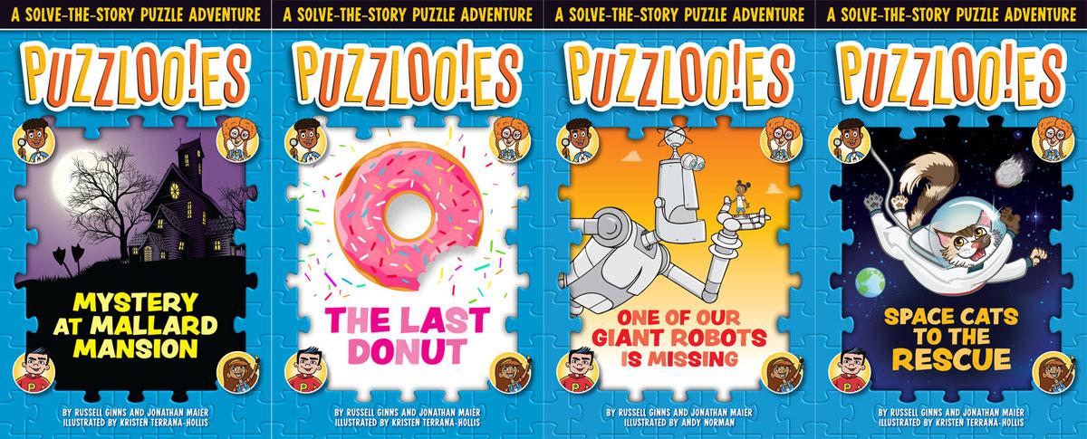Puzzlooies: Books 1-4