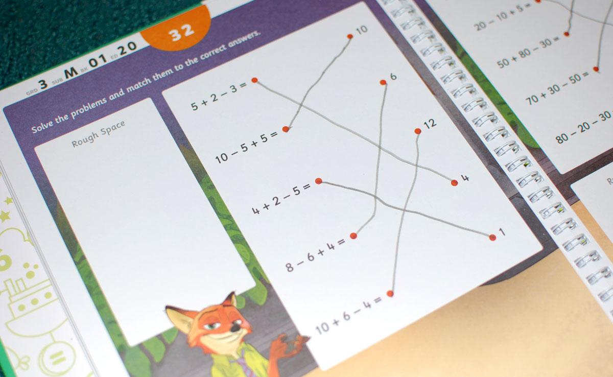 Byju Math worksheet