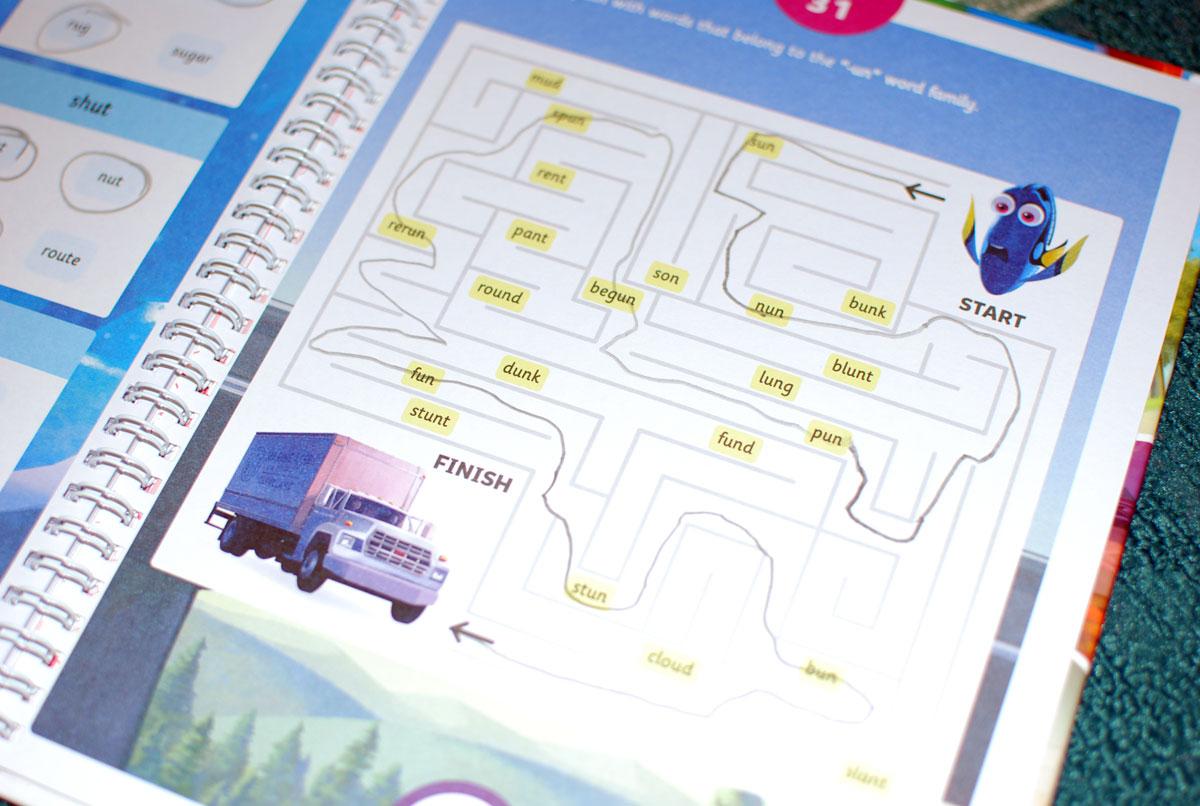 Byju worksheet: maze