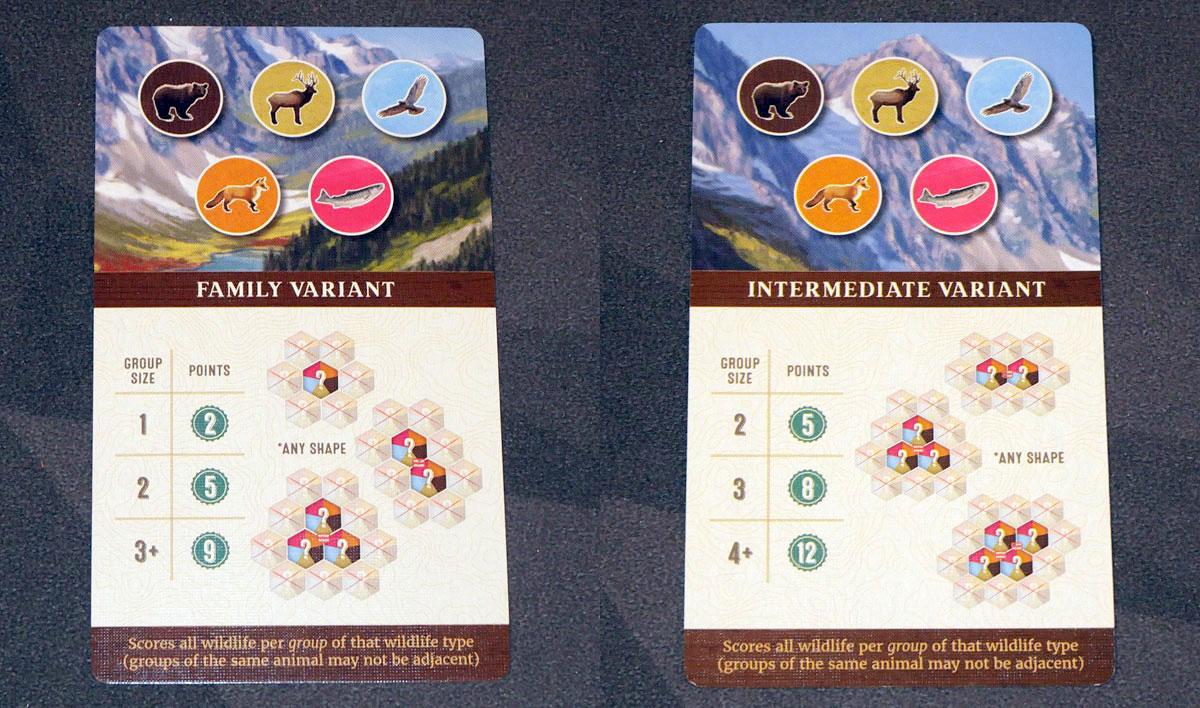 Cascadia Family/Intermediate Variant card