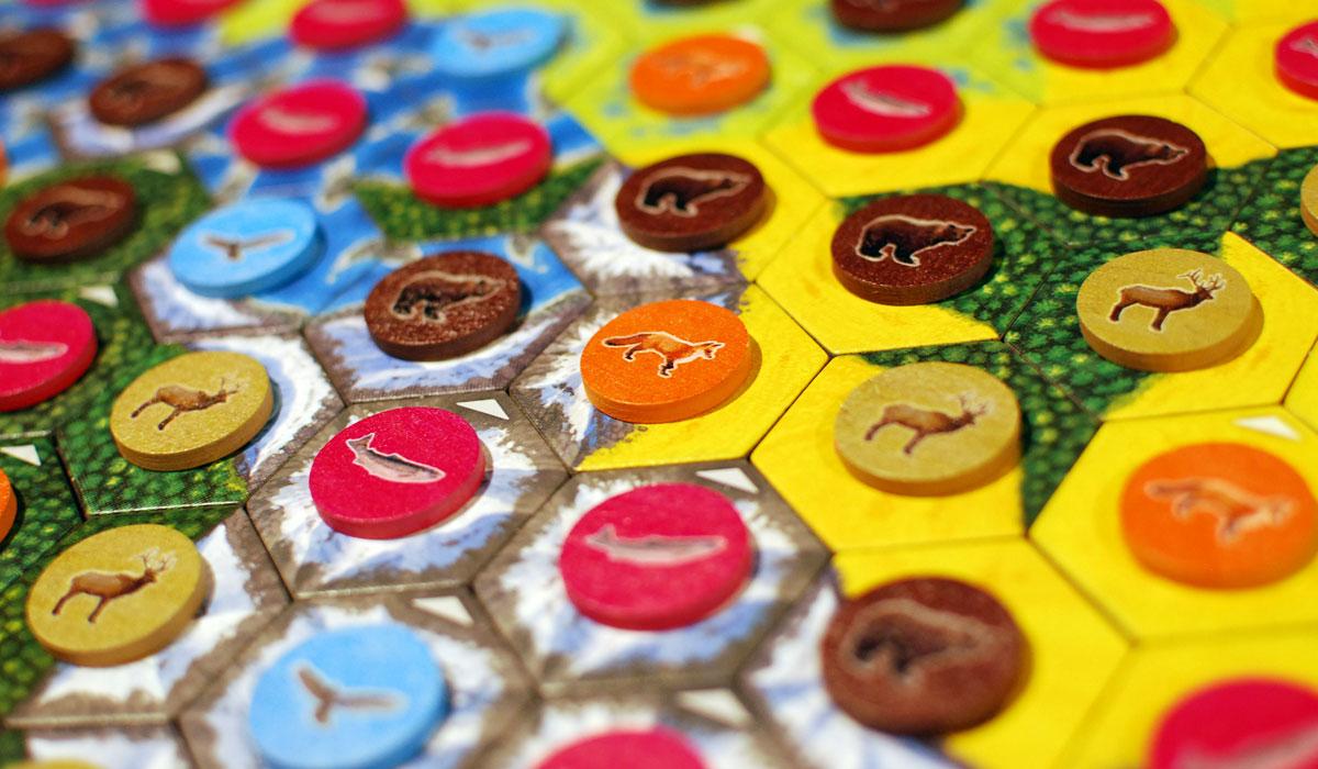 Cascadia tiles close-up