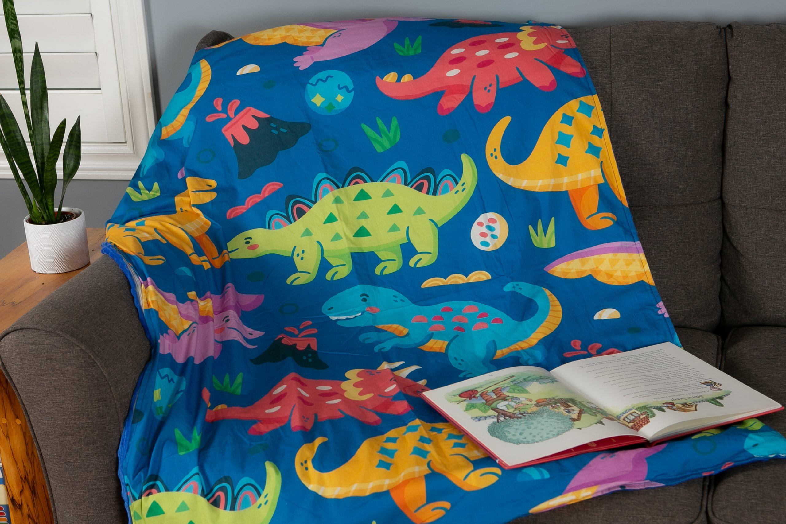 SAVOIZ Weighted Blanket - dinosaur