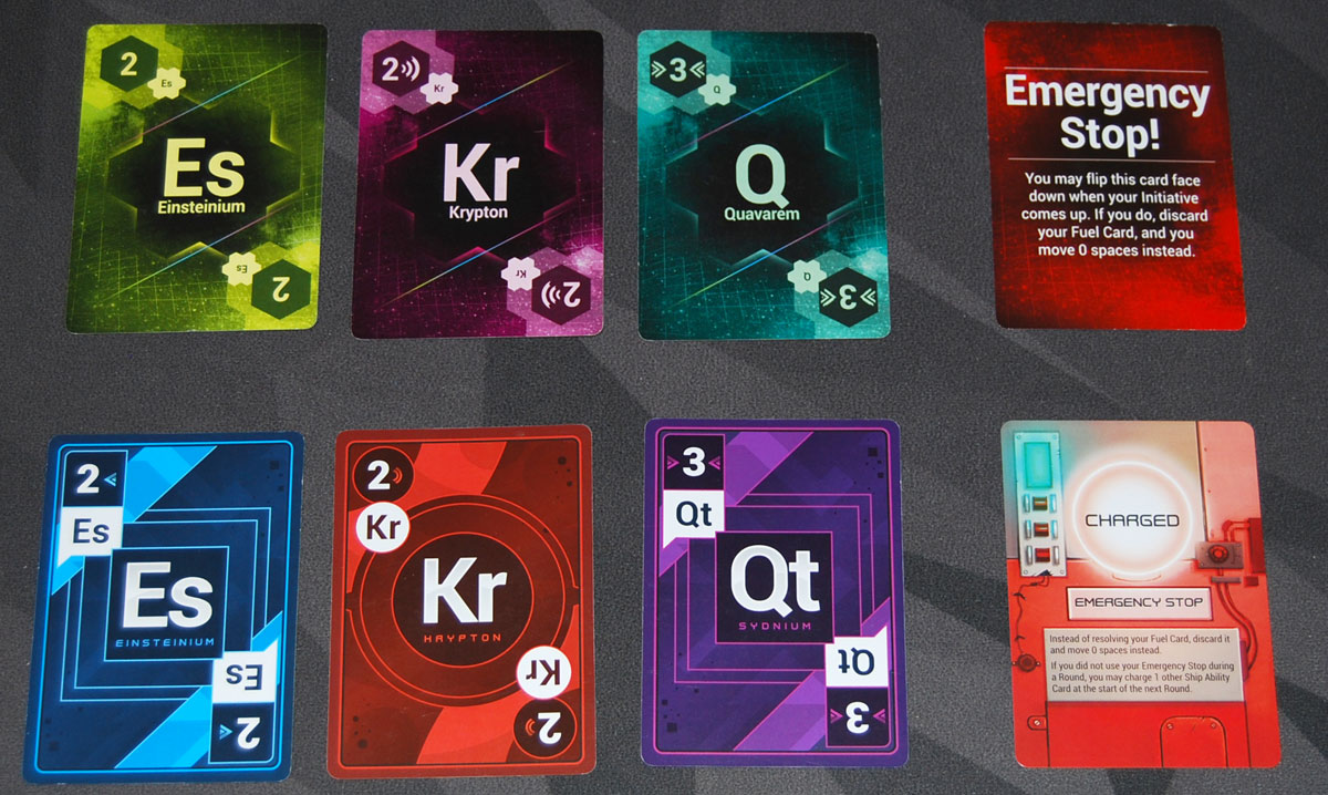Gravwell first and second edition card comparison
